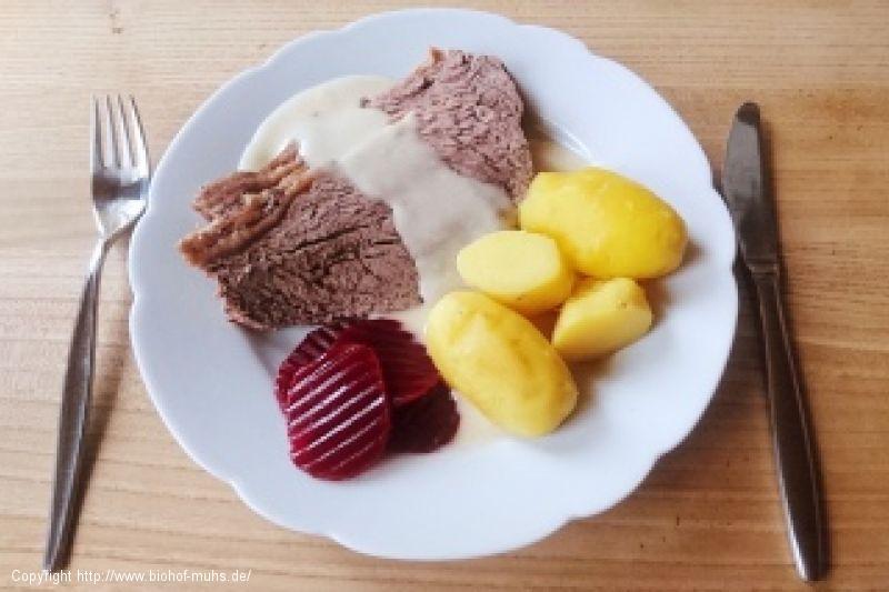 Rezept Tafelspitz Mit Meerrettich Sauce